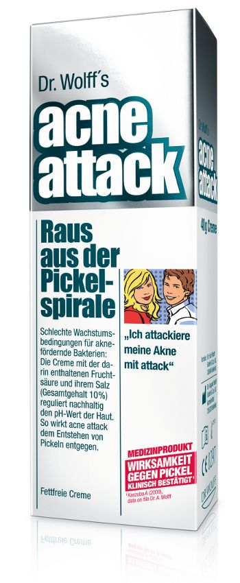 acne-attack von Dr. Wolff