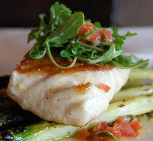 Fischfilet auf Teller