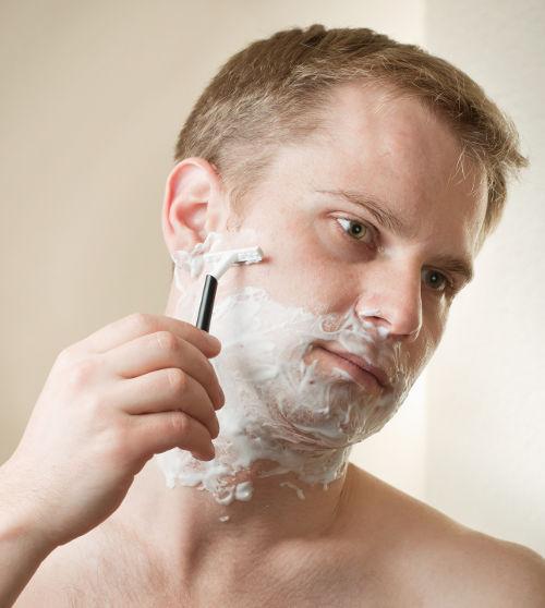 Nass rasieren